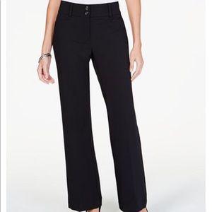 Women's black dress pant